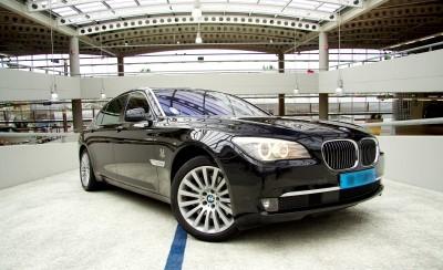 BMW 7 met chauffeur