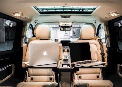 Interieur Mercedes V-klasse VIP